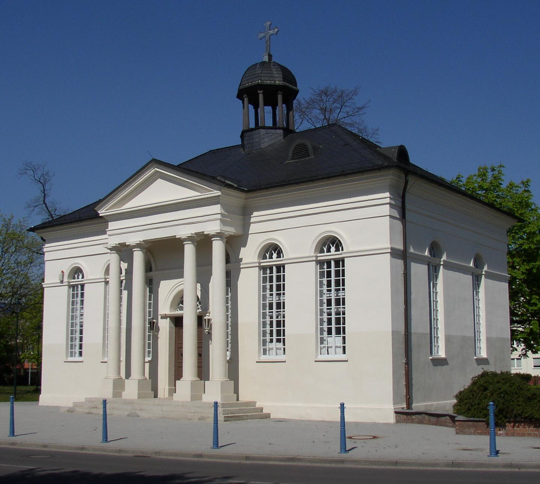 graefenhainichen_gerhardt_chapel Radverleih Dübener Heide – Ferropolis - Gräfenhainichen